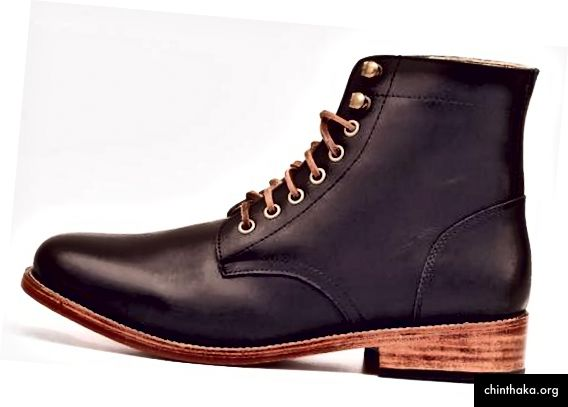 Nisolo Lockwood Trench Boot Noir