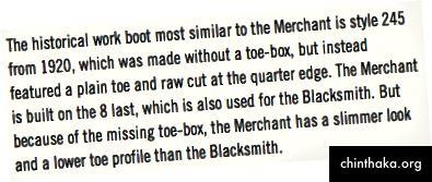 Händler lassen keine Dinge auf die Zehen fallen. Sie verkaufen Dinge - indem sie sehr stilvoll sind. Also macht es Sinn.