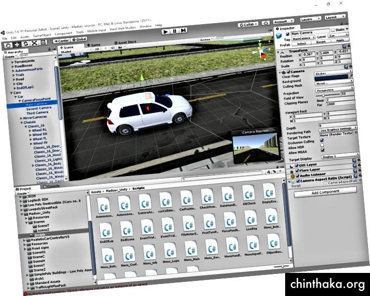 Unity 3D-Startbildschirm (mit freundlicher Genehmigung von Project MADSAV)