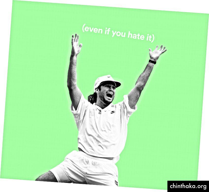 (Foto aus dem Wimbledon von 1992, von Roger Gould)