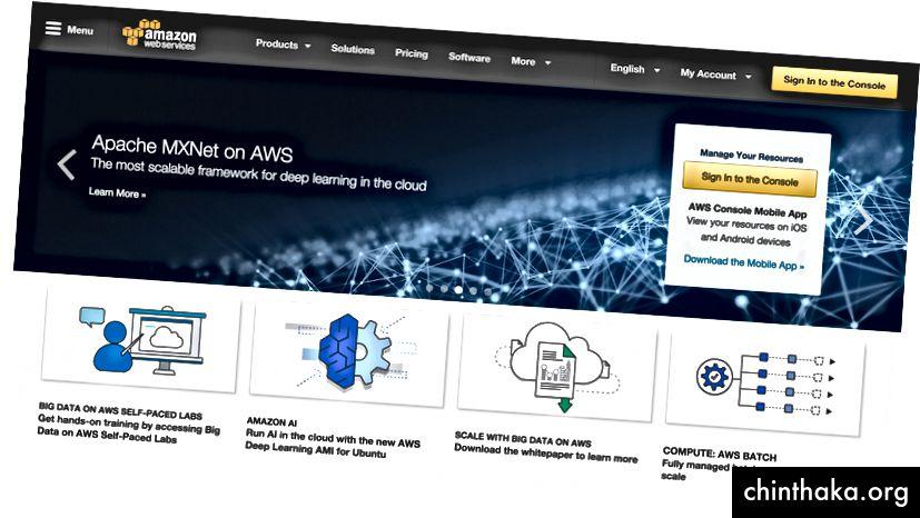AWS-Homepage