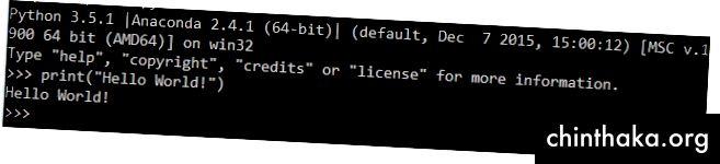 Hallo Welt in Python