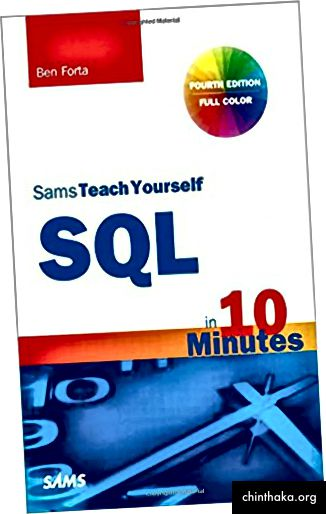 Ο Σαμ διδάσκει τον εαυτό σου SQL σε 10 λεπτά - Ben Forta