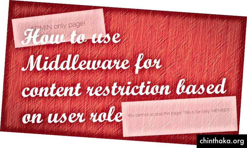 استخدام الوسيطة في Laravel - justlaravel.com