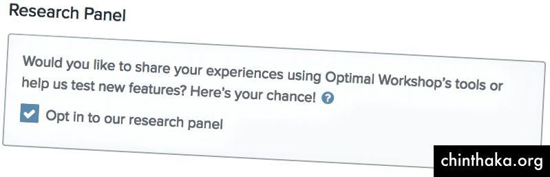 Používatelia, ktorí majú záujem o pripojenie k panelu, tak môžu urobiť z nastavení svojho účtu