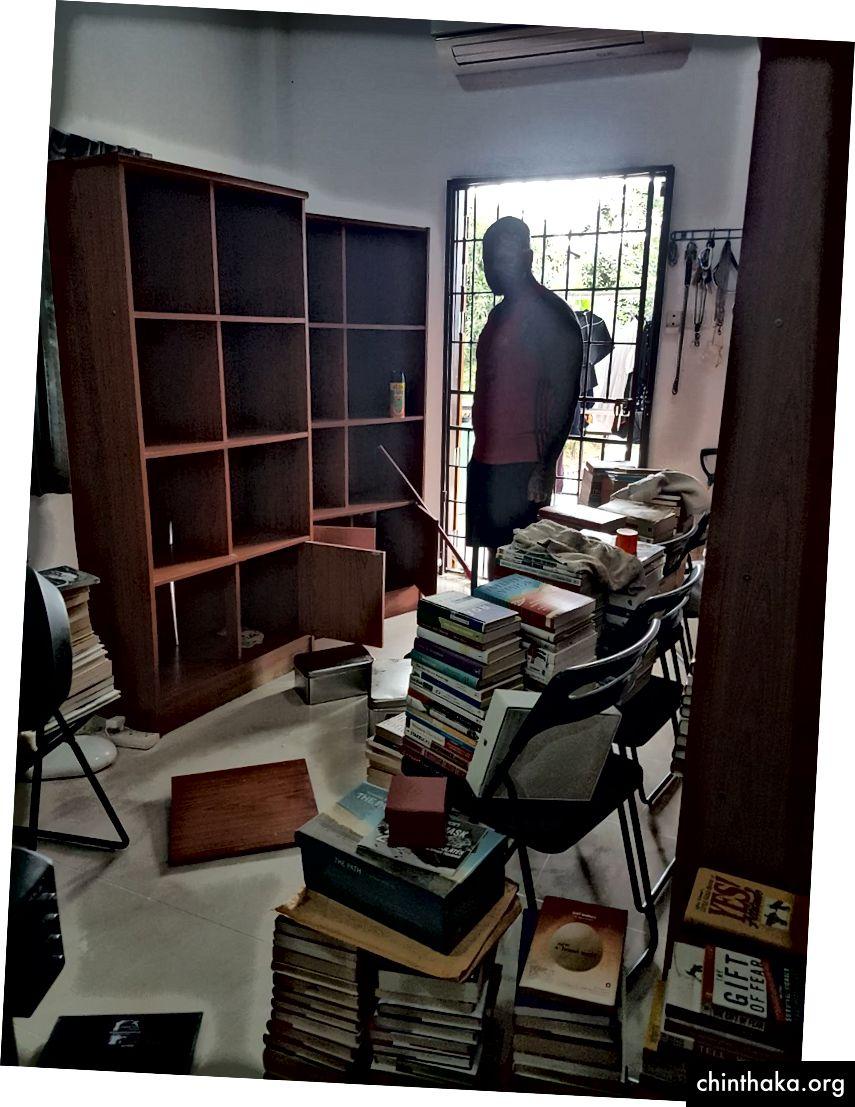 Bücher Sortieren um 10 Uhr