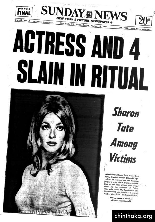 Slučaj Manson koji je medijski vodio snažno je zagađivao pojam rituala u Americi.