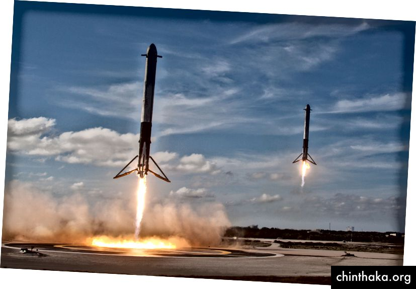 Offensichtlich die glänzende Zukunft ( von SpaceX)
