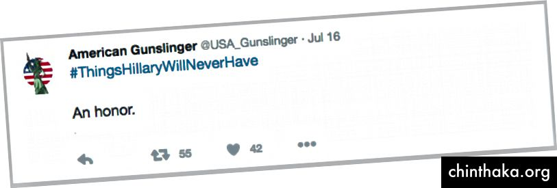 Tweet von @USA_Gunslinger, wiederhergestellt von @UsHadrons. (Quelle: Twitter / USA_Gunslinger)