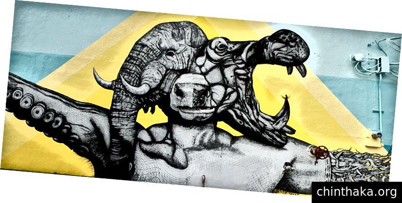 τοιχογραφία από τον Αλέξη Ντίαζ
