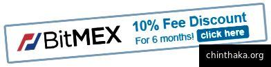 Sparen Sie mit diesem Gutschein BitMEX-Gebühren. (BitMEX-Gebühren sind viel höher als bei herkömmlichen Börsen, da die Gebühr für die gesamte Hebelposition gilt und nicht nur für Ihre Marge. Bei Market Trades betragen die Gebühren 0,075% Ihrer Position sowohl für den Ein- als auch für den Ausstieg. Die Gesamthonorare für einen 1.000-Dollar-Trade betragen also 100x Die Hebelwirkung beträgt 150 US-Dollar [100 x 1.000 x 0,00075 x 2]. Die Gebühren betragen in diesem Fall 15%.)