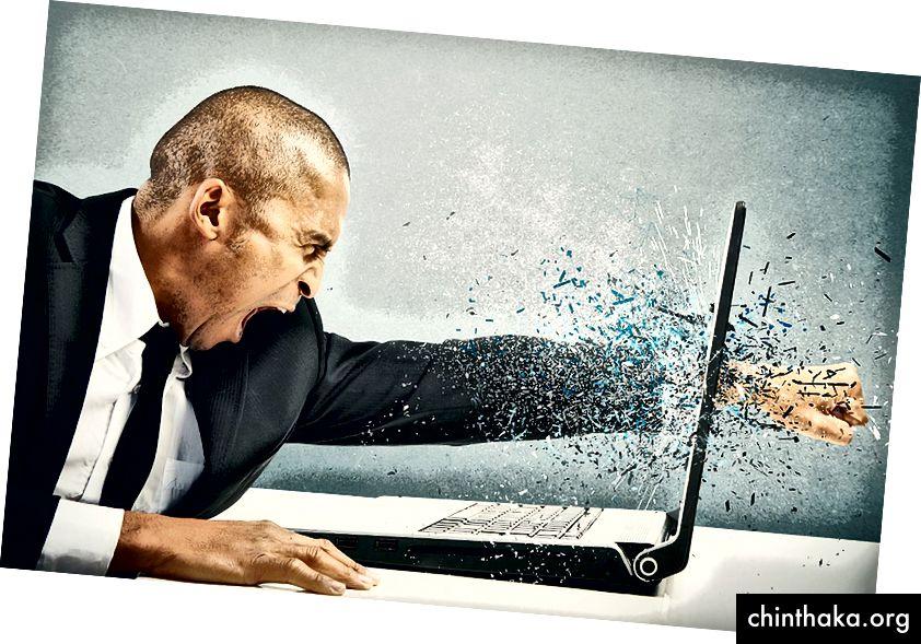 Sie arbeiten mit Ihrem neuen Subdomain-Scanner buchstäblich an einem Laptop, weil Sie so großartig sind.