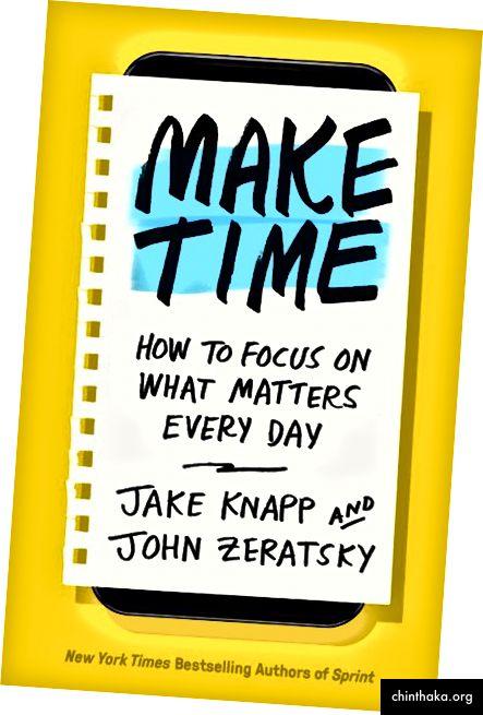 Angepasst an Make Time: Wie man sich jeden Tag auf das konzentriert, was wichtig ist. Copyright © 2018 von John Knapp und John Zeratsky. Veröffentlicht von Currency, einem Abdruck von Penguin Random House LLC.