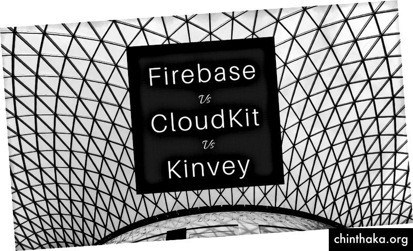 Firebase εναντίον CloudKit εναντίον Kinvey
