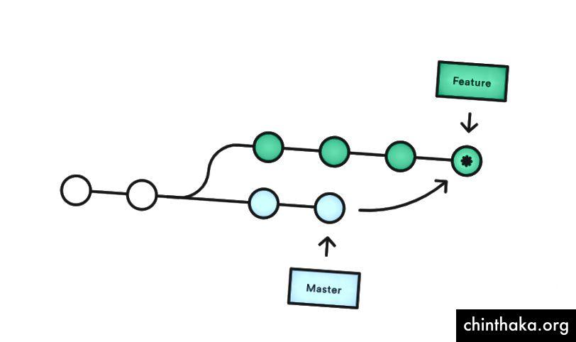 Zlúčiť predlohu -> vetva funkcie