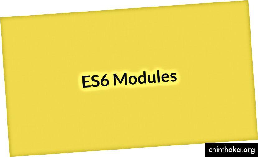 ES6-Module