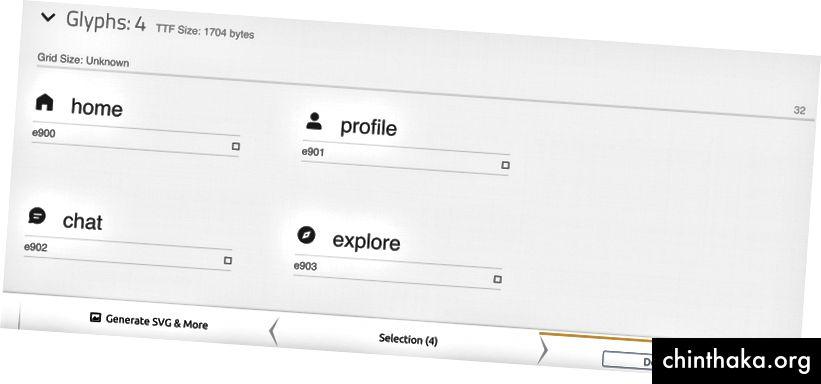 Sada možete preuzeti ikone fonta za ove SVG datoteke
