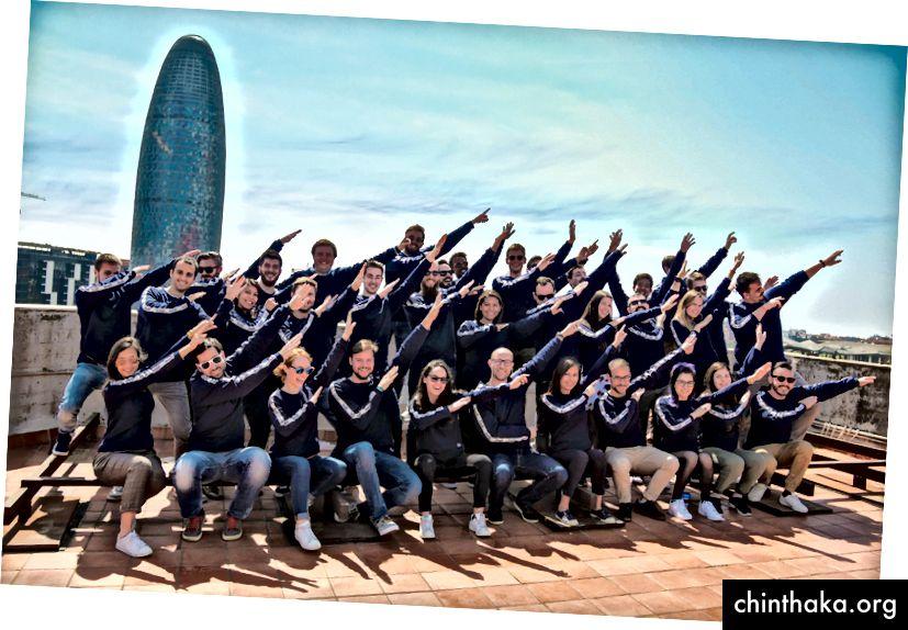 スペインのバルセロナにある本社のバディチーム