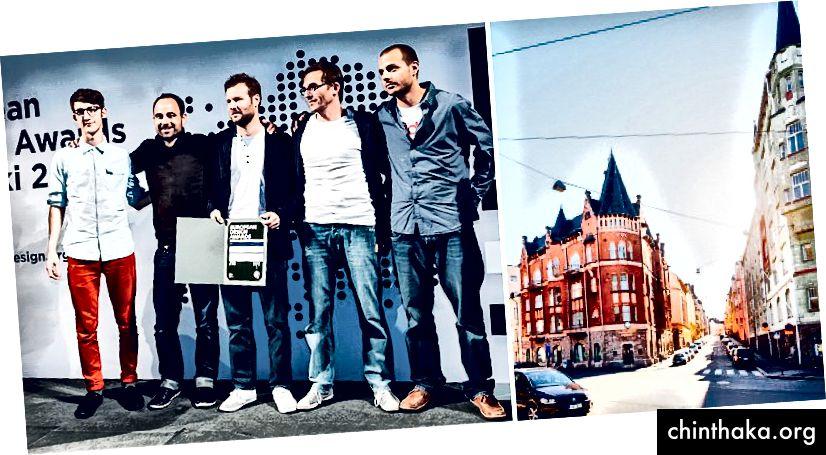 هلسنكي 2012 ، أسبوع التصميم الأوروبي وحفل توزيع الجوائز