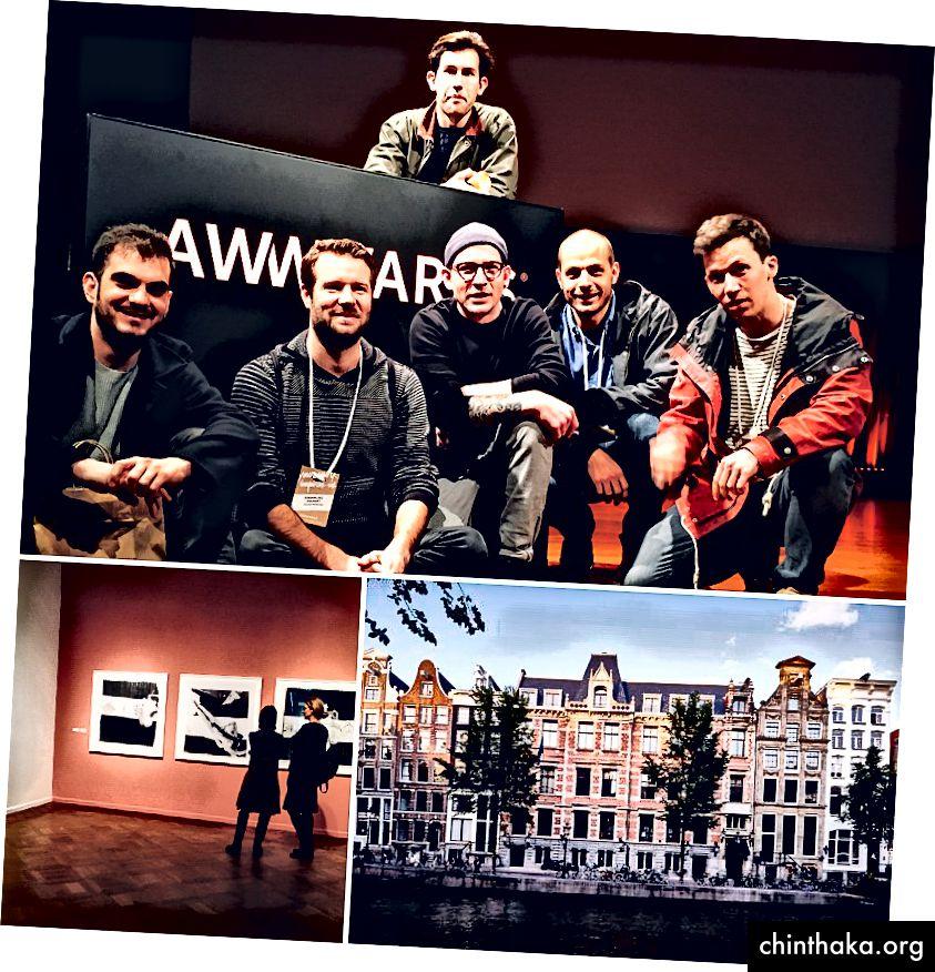 Amsterdam 2016, Awwwards Conference und Ausstellungen