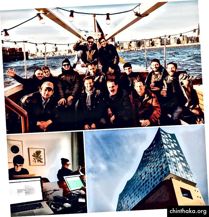 Hamburg 2017, Creathon und Sightseeing