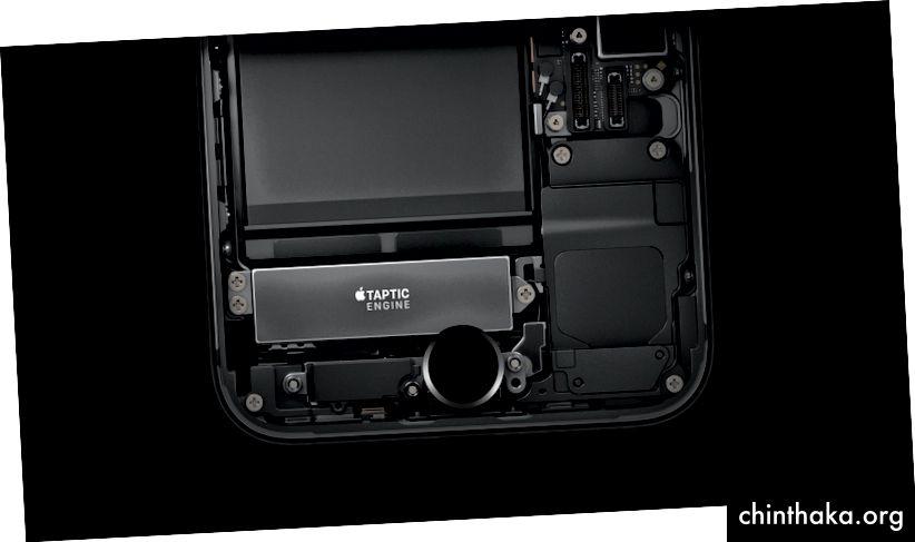 Die neue iOS Taptic Engine (ab iPhone 7) bietet 7 verschiedene Arten von haptischem Feedback