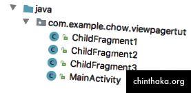 3 forskellige børnefragmenter (erstattes med dine egne fragmenter)