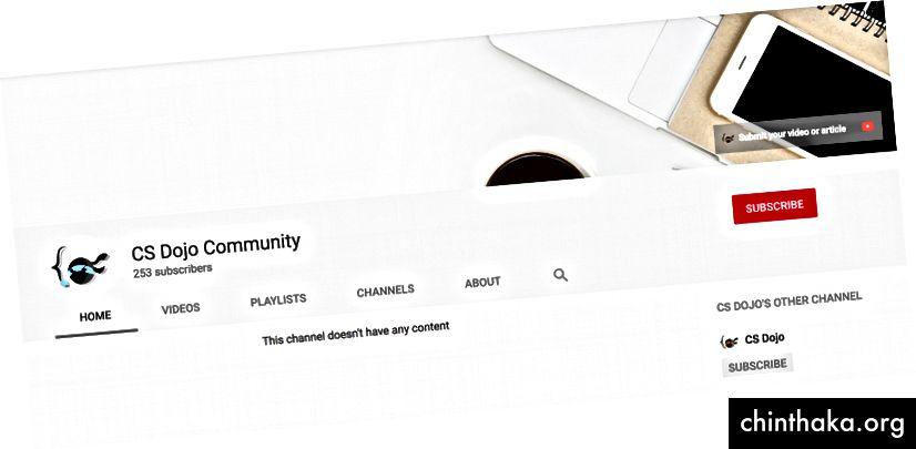 CS Dojos zweiter Kanal - CS Dojo Community