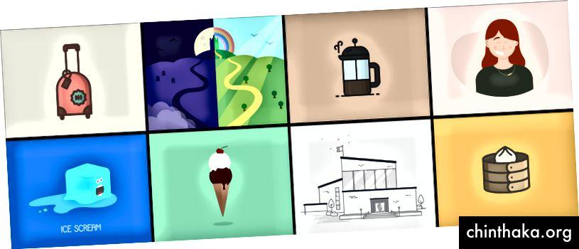 Einige Bilder aus Arbeit und Nebenprojekten