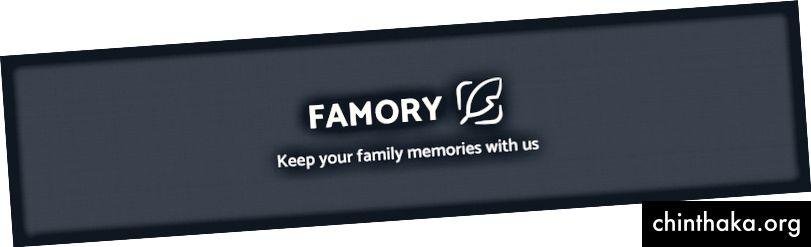 Logo und Slogan von FAMORY
