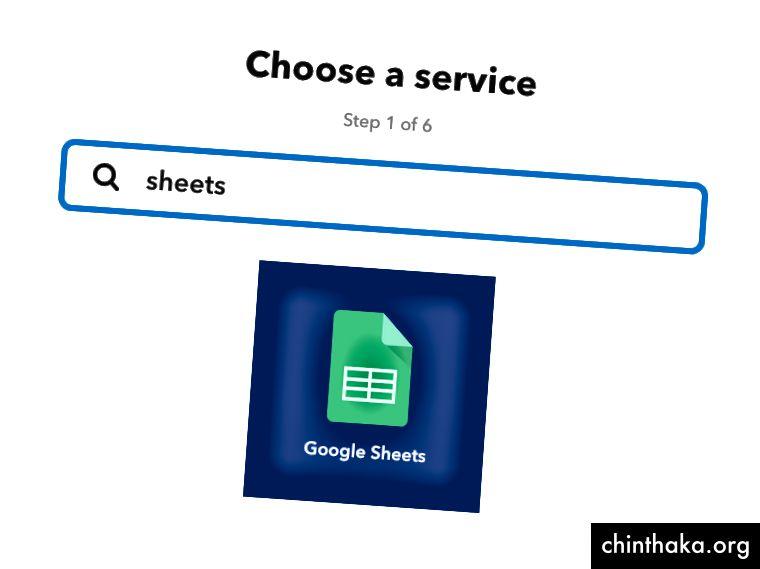 Der erste Service, den wir zum Applet hinzufügen