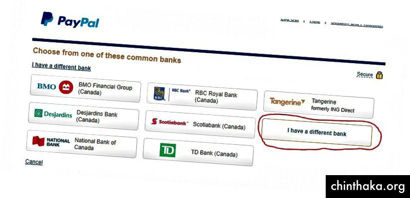 Ihre Optionen können sich von meinen unterscheiden, da ich Kanadier bin