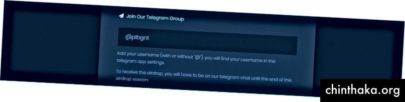 انقر فوق الارتباط لإعادة توجيهك إلى مناقشة Telegram.