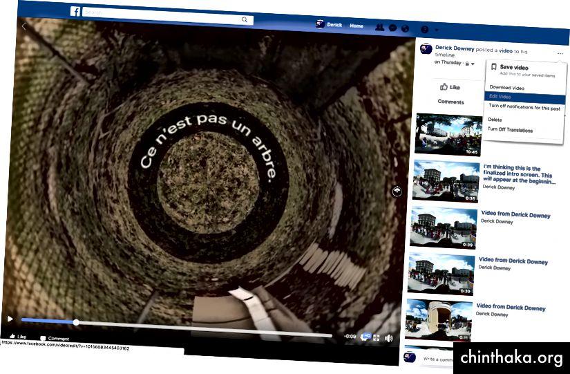 Facebook'un oldukça zor Video Düzenleme seçeneği…