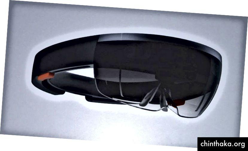 Microsoft HoloLens. Πιστωτική εικόνα https://www.flickr.com/photos/jiff01/15867880743