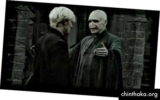 Wenn Voldemort es üben kann, kannst du es auch.
