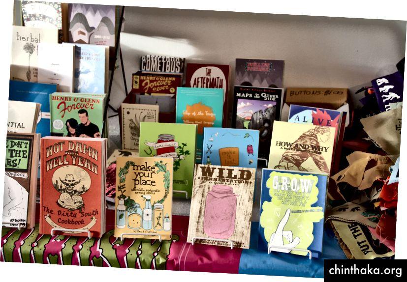 Buku-buku yang diterbitkan oleh Microcosm Publishing