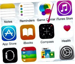 Öffnen Sie die Kompass-App, um die iPhone-Bewegungssensoren zu kalibrieren.