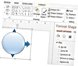 Le forme di PowerPoint si uniscono per aiutarti ad allineare più elementi.