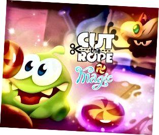 Cut the Rope: Tugann Magic an Om Nom, a bhfuil grá aige do candy, ar ais ar eachtra nua.