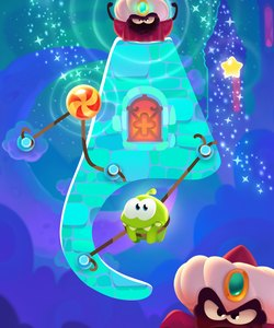 Cut the Rope: Magic es una gran versión nueva de la serie clásica.