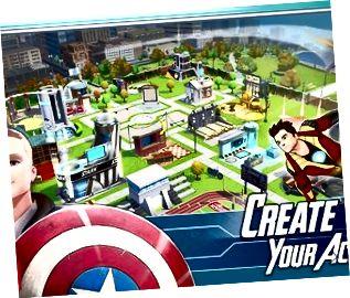 Seinn Captain America mar dhéagóir in Acadamh Marvel Avengers.