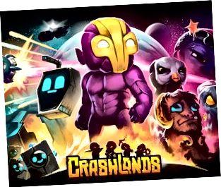Is cluiche eachtrúil ról-imirt é Crashlands.