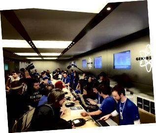 Lanzamiento del iPad de Apple