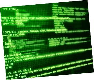Համակարգչային կոդ: Խորը կանաչ էկրան