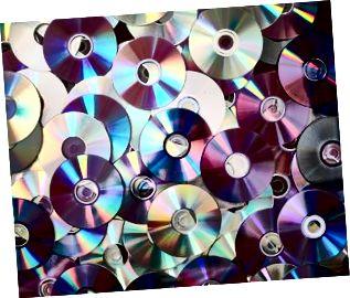 Sfondo di DVD e CD