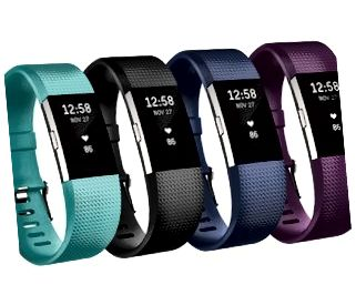 Foto van een Fitbit Charge 2