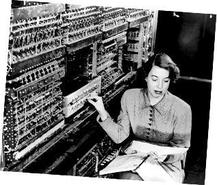 La primera computadora de Argonne, dominio público