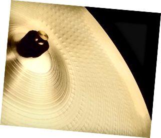 Magsara ng isang cymbal