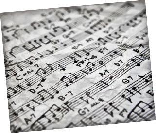 Vollständiger Rahmen kompositorischer Musik